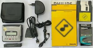 Philips DCC175 Portable Digital Compact Cassette with DCC link cable!