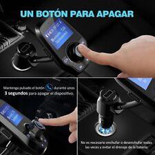 REPRODUCTOR DE MP3 VICTSING MANOS LIBRES BLUETOOTH COCHE RADIO FM BLUETOOTH LCD