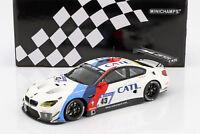 BMW M6 GT3 #43 24h Nürburgring 2017 Farfus, Lynn, Da Costa, Scheider 1:18 Minic