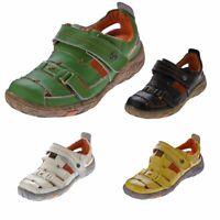 Damen Echt Leder Sandalen Halbschuhe Leder Schuhe TMA 1667 Sandaletten