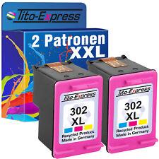 2 cartuchos ProSerie para HP 302xl color OfficeJet 3830 3831 3832 3833 3834 3835