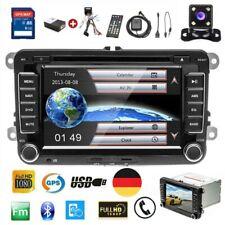 "2DIN  7"" Autoradio GPS NAVI DVD FM Pour VW POLO Volkswagen PASSAT GOLF 5 6 Caddy"