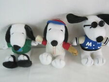 "Adorable 6/"" Plush /""Met Life/"" Snoopy Toy Dogs Your Choice $2.50 each Joe Cool etc"