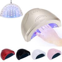 LAMPADA FORNETTO LED UV 48W MANICURE SENSORE TIMER RICOSTRUZIONE UNGHIE NAIL ART