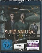 Supernatural - Die komplette neunte Staffel [Blu-ray] Neu!