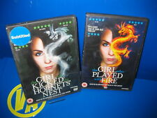 Pelicula EN DVD Saga Millennium-2 dvdvs-region 2 -edicion UK-dvd en Ingles
