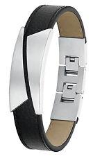 S.OLIVER Schmuck Leder Herren-Armband 9067077