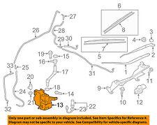 MITSUBISHI OEM Wiper Washer-Windshield Fluid-Reservoir Tank 8260A215