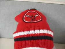 fc63175367e New Chicago Bulls Unisex Adult Mens OSFA One Size Red Beanie