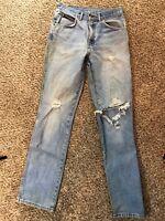 Vintage 80s 90s Men's Denim h.i.s blues Acid Wash High Rise Jeans Size 30x33
