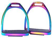 Rainbow Stirrups Fillis Stainless Steel Stirrups Equestrian Stirrups