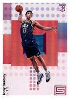 2017-18 Status Tony Bradley Jazz #117 NBA Rookie RC PWE