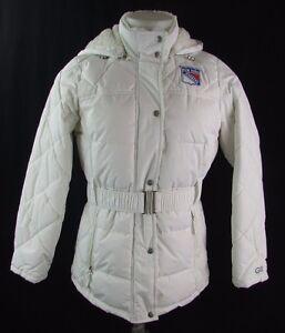 New York Rangers Women's S, M Waterproof Fleece Lined Winter Jacket NHL