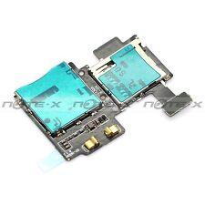 Nappe lecteur carte Sim mémoire micro SD pour Samsung galaxy S4 I9500 I9505