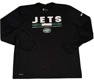 New York Jets Zach Wilson Authentic Nike NFL Dri-Fit Training Top Size XXL 2XL