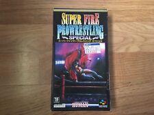 Super Fire Pro Wrestling Special SUPER FAMICOM NTSC-J Japan Import