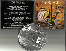THE NOTWIST Selections form 12 w/ 2 RARE TRX 5TRX PROMO DJ CD Single 1996 MINT