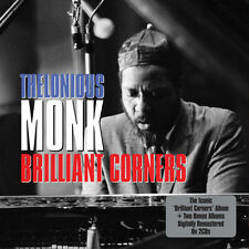 Thelonious Monk BRILLIANT CORNERS /THELONIOUS HIMSELF Remastered NEW SEALED 2 CD