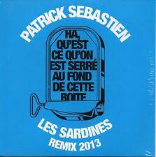 ★☆★ CD SINGLE Patrick SEBASTIEN Les sardines Remix 2013 2-track CARD SLEEVE ★☆★