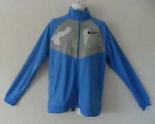 RARE~Nike DRI-FIT PRE-LIVES 3M REFLECTIVE Track Jacket Sweat Shirt Top~Mens 2XL-