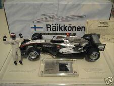 F1 McLaren Mp4-20 2005 Raikkonen Coffret 1/18 Hot Wheels G9753 Voiture Miniature