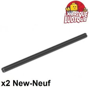 Lego Technic- 2x Axe Axle 12 noir/black 3708 NEUF