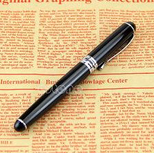 Jinhao X750 18kgp Deluxe Black Medium Nib Fountain Pen Nice Gift