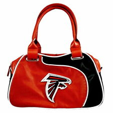 Atlanta Falcons Women's NFL Authentic  Per-fect Bowler Bag Purse by Little Earth