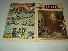 TINTIN 1947/30 (24/7/47) EDGAR P JACOBS LE SECRET DE L'ESPADON HERGE
