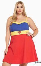 Torrid Sexy Superman Skater Dress NWT Plus Size 10