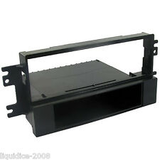CT24KI02 FOR KIA SORENTO 2002 - 2006 BLACK SINGLE DIN FASCIA FACIA ADAPTER PANEL