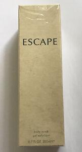 Escape for Women by Calvin Klein Body Scrub Gel Exfoliant 6.7 FL OZ New in Box!