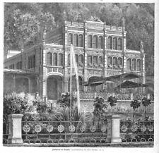 Herkulesbad, Mehadia, Sisi, Sissi, Kaiserin, Bade-Aufenthallt Holzstich ca. 1880