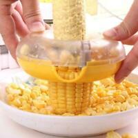Corn Peeler Thresher Cob Kerneler One-Step Stripper Remover Tool Kit K5D0