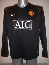 Manchester United  Jersey Shirt Adult XXL L/S Soccer Football Nike Rare Top