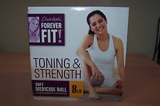 Denise Austin Forever Fit Soft Medicine Ball 8 Lb for TONING & STRENGTH NEW nBox