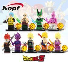 DRAGON BALL Super - Set 8 minifiguras Goku, Vegeta, Black, Buu, Cell, Gohan
