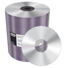 100 Mediarange Silver Thermal Printable Blank DVD-R 16x 4.7GB Shrinkwrap MR422