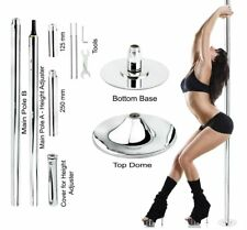 Portable Stripper Pole Fitness Exercise Weight Loss Club Spin Dance Studio Sexy