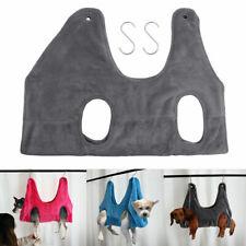 More details for pet dog cat grooming hammock bag fleece restraint bags bathing trimming helper1