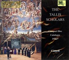 = The Tallis Scholars directed by Peter Phillips -Gimell / sealed CD real photos