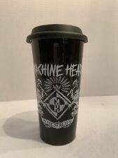 HTF Machine Head Coffee Tea Mug Black With Cover