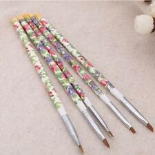 5pcs UV Gel Acrylic Nail Art Brush Painting Pen Set Nail Design Manicure Tool