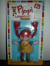 New Pippi Longstocking Doll w KEYCHAIN by Omega Toy As Seen on TV WOW
