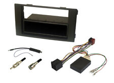 IVECO DAILY 2006 to 2014 RADIO REPLACMENT KIT MATT BLACK SINGLE or DOUBLE DIN