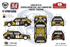 [FFSMC Productions] Decals 1/24 Lancia Delta S4 Grifone Esso #7 Sanremo 86 rally
