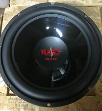 "NEW PAIR Old School Hart Professional 15"" subwoofers,Rare,USA,NOS,Kove Audio"