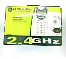 GE 2.4 Ghz Cordless Phone with Digital Answerer 2995GE1-A Caller ID