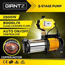 Giantz Water Pump High Pressure Multi Stage Copper Motor Garden Farm Irrigation