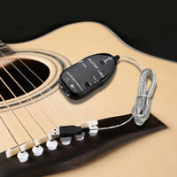 Guitar to USB Interface Link Cable Adapter MAC/PC Recording CD S4U7 M9Y4 G4B6